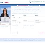 TARGOBANK Kontoeröffnung persönliche Daten