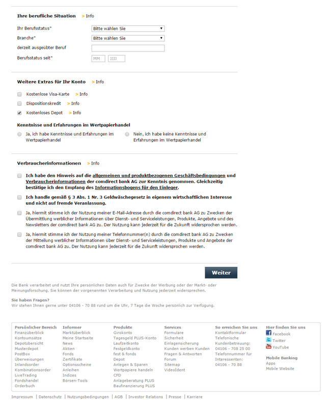 Comdirect Girokonto Mit 100 Euro Startprämie Im Test