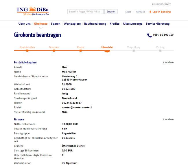 Girokonto Der Ing Diba Logo