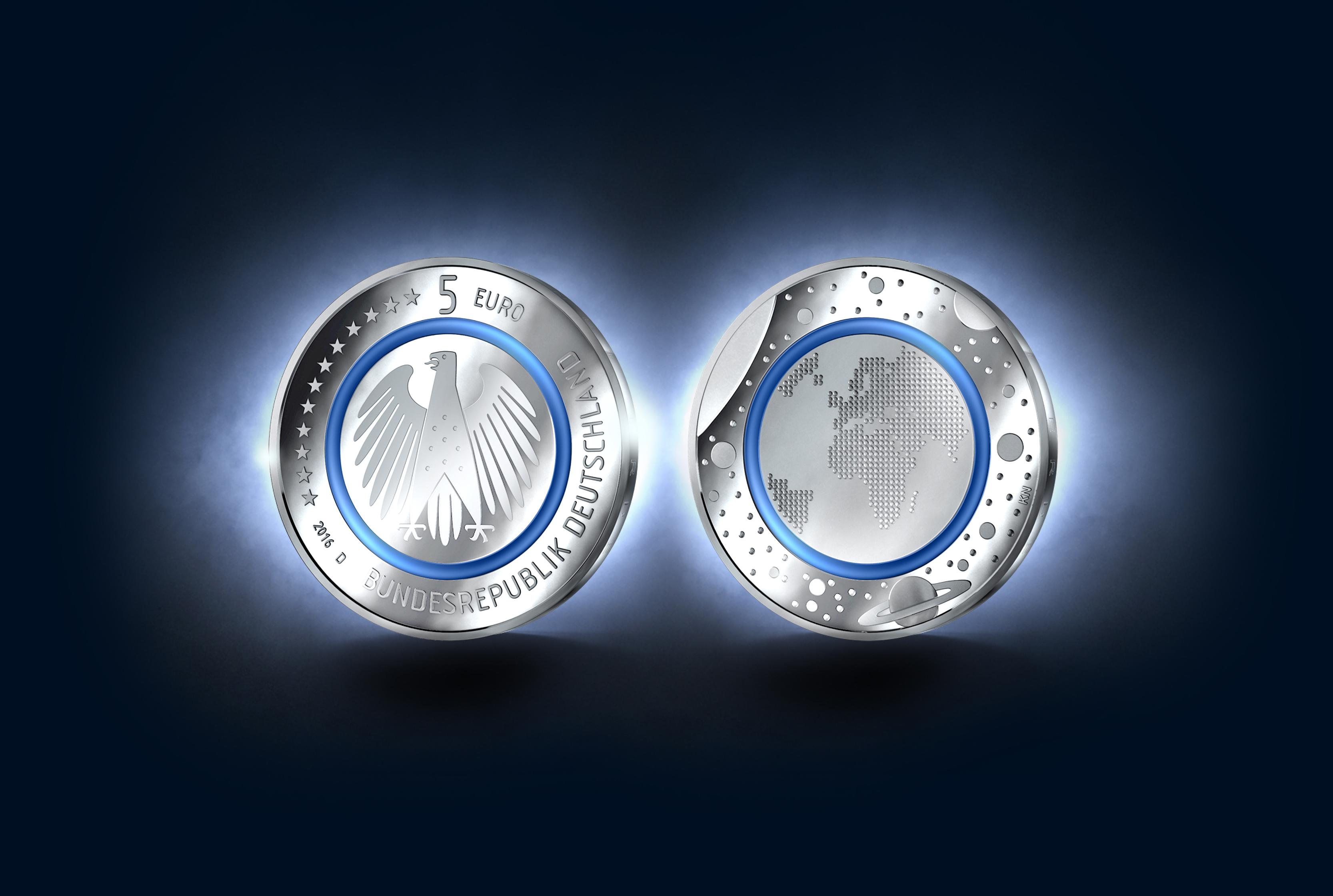 Erstmalig 5 Euro Münze Ausgegeben