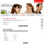 Kontoeröffnung Santander Girokonto Angaben im Überblick