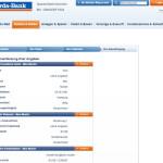 Sparda-Bank Kontoeröffnung Zusammenfassung Angaben