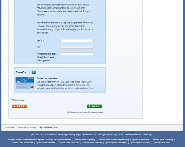 Iban Rechner Sparda Bank